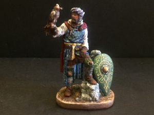 Knight with Falcon