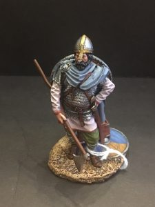 Viking Warrior with chest