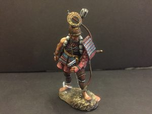 Samurai with Large bow